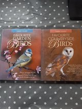2 x bird books in Lakenheath, UK