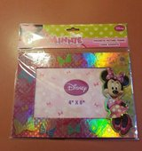 NEW Disney Minnie Mouse Pink Bow-Tique Photo Picture Frame Magnet 4x6 Kid in Morris, Illinois