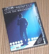 NEW Vintage 1999 Jerry Seinfeld Live On Broadway DVD HBO Comedy in Yorkville, Illinois
