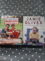 2 x cook books in Lakenheath, UK