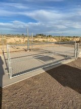 15' x 4' Chain Link Gate in Alamogordo, New Mexico