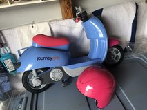 Journey Girls Scooter and Helmet in Warner Robins, Georgia