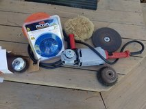 """Sander Angle Grinder Side Winder 9"""" with accessories in Yorkville, Illinois"""