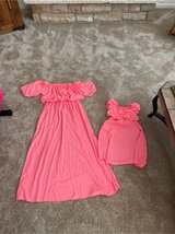 Mommy/daughter matching dresses in Sandwich, Illinois