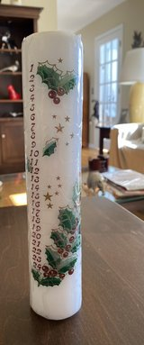 Advent Candle in Yorkville, Illinois
