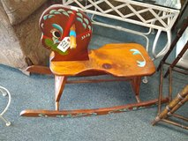 Wooden Rocking Horse in Bartlett, Illinois