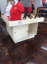 4x4 (ish) merchandise display case with storage in Spring, Texas