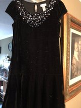 Girl's Black Glitter Dress in Clarksville, Tennessee
