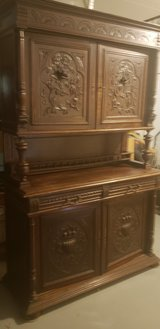Old cabinet with shelves. in Fairfield, California