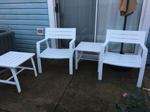 Patio Chairs and side tables in St. Charles, Illinois