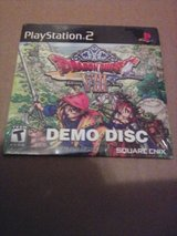 sealed Dragon Quest VIII demo disc in Beaufort, South Carolina