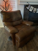 Leather Recliner Chair in Travis AFB, California
