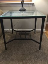 Metal and Glass End Tables in Naperville, Illinois