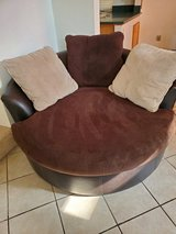 Round chair in 29 Palms, California