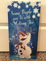 Disney Frozen Olaf Canvas Print in Naperville, Illinois