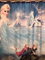 Disney Frozen Custom Fabric Shower Curtain with Matching Shower Hooks in Naperville, Illinois