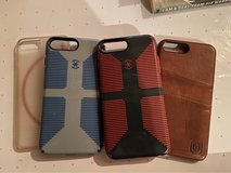 iPhone 8plus cases. in St. Charles, Illinois