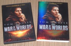 War of the Worlds DVD w Slip Cover Tom Cruise in Joliet, Illinois