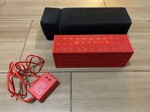 Jawbone BIG Jambox Wireless Bluetooth Speaker-Red Dot in Kingwood, Texas