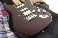 2013 Fender MIM HSS Stratocaster--Rare Midnight Wine--No Issues--Mint for Real--Rarely Played-- in Alamogordo, New Mexico