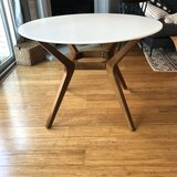 mid-century Round dining table in Batavia, Illinois