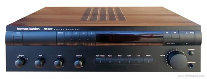 Harmon Kardon HK3300 AM/FM Stereo Receiver *All Vintage Analog Build* Super Nice! in Alamogordo, New Mexico