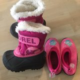 baby winter boots and swim shoes in Stuttgart, GE