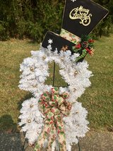Christmas Snowman Wreath in Elizabethtown, Kentucky