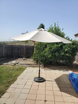 patio umbrella with LED lights in Camp Pendleton, California