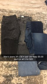 men's jeans in St. Charles, Illinois