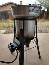 Turkey fryer in Alamogordo, New Mexico