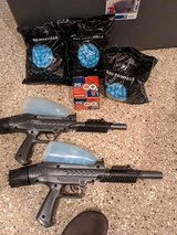 Paint ball guns set of two with ammo in Batavia, Illinois