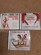 3 x Christmas CDs in Lakenheath, UK