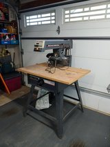 Sears Craftsman 10-inch radial arm saw in St. Charles, Illinois