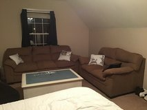 Free couch and love seat in Fort Campbell, Kentucky