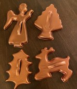 Vintage Copper Cookie Cutters in Oswego, Illinois