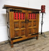 Small Spanish Solid Wood Cabinet in Ramstein, Germany
