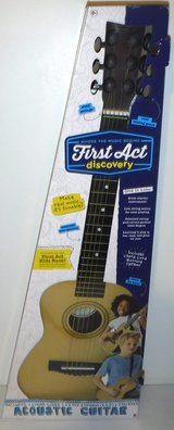New! First Act Discovery Kid Size Acoustic Guitar in Orland Park, Illinois