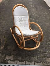 ratan rocking chair in Ramstein, Germany