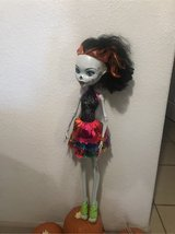 "Monster High Gore-geous Ghoul Skelita Calaveras 28"" Tall Doll Change Eye Colors in Vacaville, California"