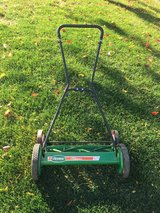 Scotts reel mower in Aurora, Illinois