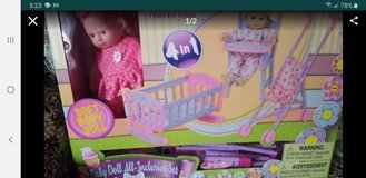 Baby doll all inclusive set new in Joliet, Illinois