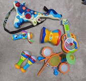 Toddler band instruments! in St. Charles, Illinois