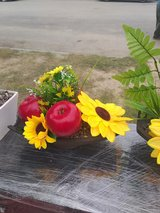 Beautiful apples and sunflowers center piece! in Spring, Texas