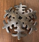 Metal Snowflake Ornament in Joliet, Illinois