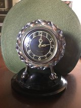Vintage Majak Russian Table Clock in Ramstein, Germany