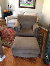 chair with matching ottoman in St. Charles, Illinois