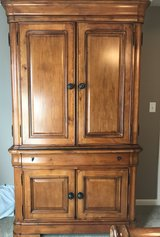 Cindy Crawford Cherry 2-piece Bedroom Armoire in Naperville, Illinois