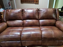 Beautiful Ashely Leather Couch in Spring, Texas