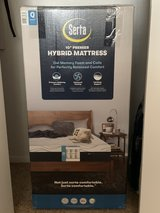 Serta mattress AND sleigh bed frame in Alamogordo, New Mexico